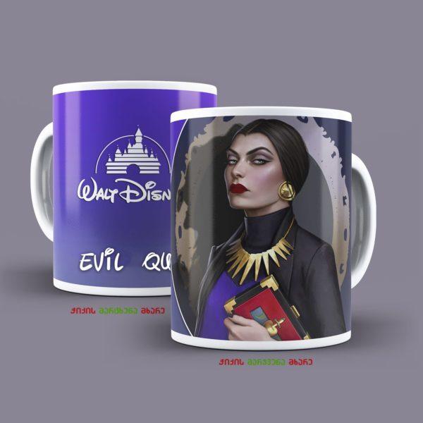 """ბოროტი დედოფალი - ჭიქა """"დისნეის პრინცესები"""" 1"""