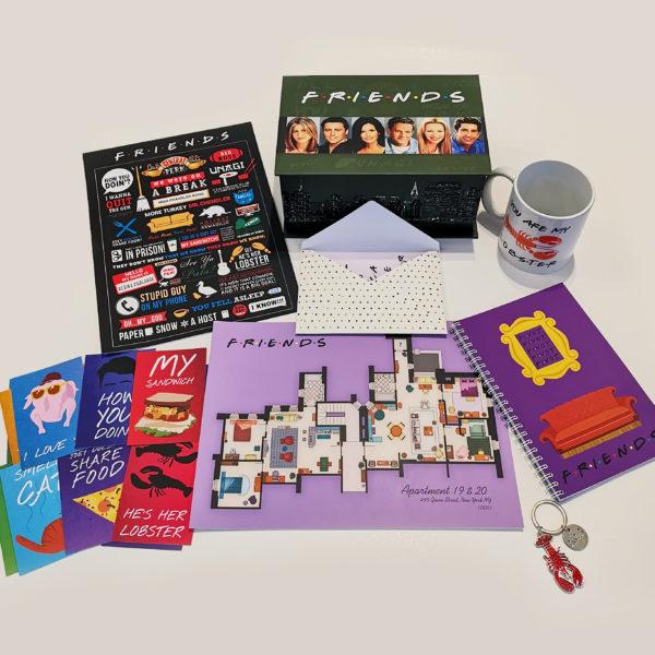 Friends Box - ნაკრები სერიალიდან მეგობრები 2