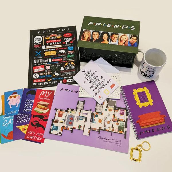 Friends Box - ნაკრები სერიალიდან მეგობრები 3
